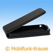 Flexi Case étui pochette pour téléphone portable sac housse pour samsung gt-s5610/s5610 (Noir)