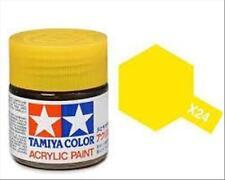Tamiya Mini X24 CLEAR YELLOW trasp. - Acrilico Lucido 10ml