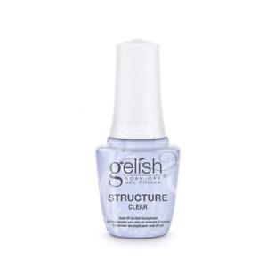 Harmony Gelish Structure Gel Brush On Formula - Clear (15ml)