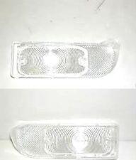 1967 FIREBIRD FRONT PARKING / PARK LIGHT - TURN SIGNAL LENS SET - BOTH SIDES