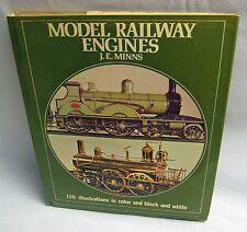 Model Railway Engines By J.E. Minns 1973 HC DJ 1st London Octopus Books Illus
