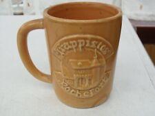 Chope en céramique publicitaire pour la bière Trappistes de Rochefort