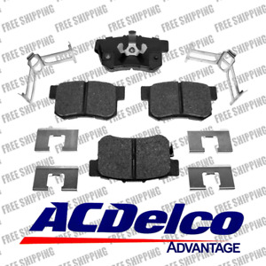 Replacement 4 Pcs Brake Pad Ceramic Rear Set 14D1086CH For 2010-2017 Acura RDX
