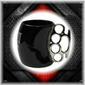 Bandit Helmets Fisticup  coffee mug  street fighters XXR Alien II  brass nuckles