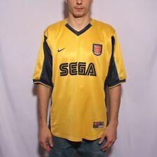 VINTAGE NIKE ARSENAL FC FOOTBALL JERSEY 1999-2000 AWAY ENGLAND SEGA