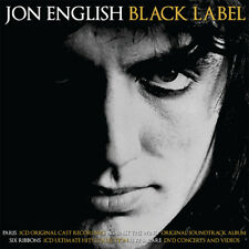 JON ENGLISH (5 CD/DVD) BLACK LABEL~PARIS~AGAINST WIND~SIX RIBBONS~LIVE RARE *NEW