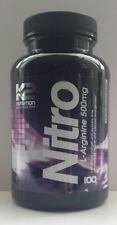 L arginine Oxyde Nitrique Muscle pompe booster Lean x 100 Capsules + 25% gratuit ☀
