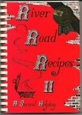 RIVER ROAD RECIPES II: A SECOND HELPING By Junior League Of Baton Rouge *VG+*
