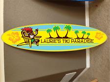 6' wall hanging surf board surfboard decor hawaiian beach surfing beach