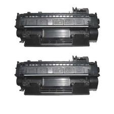 2PK CE505A 05A Toner Cartridge For HP LaserJet P2035 P2035n P2055 P2055dn P2055x