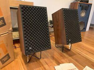 Vintage Audio JBL L166 Horizons Speakers New Foams Boxes Amazing!