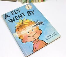 A Fly Went Mike McClintock 1st Edition Dust Jacket Beginner Book Dr Seuss 1958