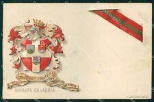 Militari Reggimentali 59º Reggimento Fanteria Brigata Calabria cartolina XF5140