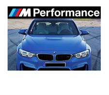 1x BMW M Performance Aufkleber Frontscheibe / hochwertige Oracal Folie!