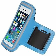 KitSound deporte brazalete para iPhone 5s, 5 and 5se Azul
