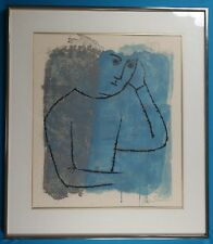 """Ben Shahn """"In Rooms Withdrawn and Quiet"""" Limited Edition Lithograph 1968 w/ COA"""