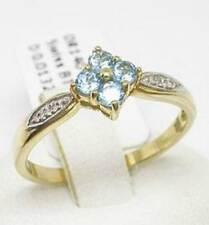 Unbranded Blue Diamond Fine Rings