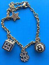 Swarovski Bracelet w/ Charms Dice Eight Ball Dollar Sign Star