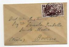 STORIA POSTALE 1951 REPUBBLICA LAVORO LIRE 6 SU BUSTA MONOPOLI 25/5 D 07739