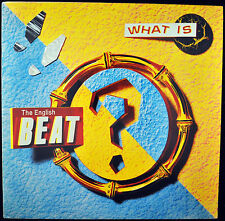 "ENGLISH BEAT ""What Is Beat?"" LP IRS 70040 Rock EX"