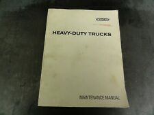 Freightliner FLA COE FLB COE FLC 112 FLD Conventional Trucks Maintenance Manual