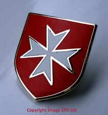ZP217 Knights Templar Shield Crusader Order of St John Crusade Cross Pin Badge
