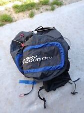 Paragliding Sky country hike and fly harness
