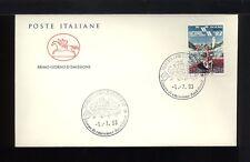 1993  ITALIA FDC CAVALLINO 1.7.1993 CAMPIONATI DEL MONDO CANOA VAL DI SOLE