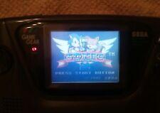 Sega game gear console, recapped