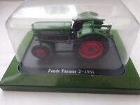 HACHETTE UNIVERSAL HOBBIES 1/43 CLASSIC FENDT FARMER 2 1961 MODEL TRACTOR