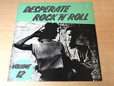 EX/EX- !! Desperate Rock N Roll Volume 12/1987 Flame LP/Little Ernest Tucker