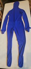 Blue Full Morphsuit Skinsuit, Size Adult Medium