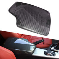 Carbon Fiber Style Console Armrest Box Cover fit for BMW 3 Series F34 13-19 New