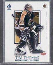 2002/03 TIM THOMAS PRIVATE STOCK RESERVE ROOKIE CARD 034/250
