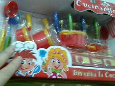 Set cucina pentole kit gioco di qualità giocattolo toy a35