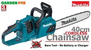 "BARE - MAKITA DUC405Z Twin 18V (36V) Li-LXT Brushless 16"" Chainsaw 0088381870672"