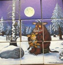 Gruffalo Double Sided Puzzle Blocks - Small Size Travel Puzzle