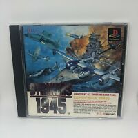STRIKERS 1945 W/ REG -  PS1 PLAYSTATION 1 Japan JPN - Retro Shooter