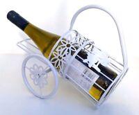 Metal Estante Botella Vino,sujeta-botellas para 1 botella,Sobre Encimera Soporte