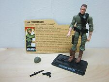 HASBRO G.I. JOE COBRA 25TH ANNIVERSARY 100% COMPLETE ACTION FIGURE STEELER LOOSE