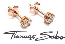 Thomas Sabo Ohrstecker rosé vergoldet 925er Sterling Silber H1818-416-14