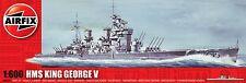 AF06205  1/600 AIRFIX HMS King George V