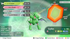 Pokemon Let's Go Shiny Scyther Max 6IV / AV [Fast Delivery] Original Owner