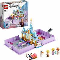 LEGO 43175 Disney Frozen Anna And Elsa's Storybook Adventures Building Toy Set