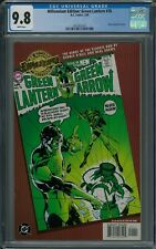 MILLENNIUM EDITION: GREEN LANTERN #76 CGC 9.8 (2/00) DC Comics gold foil