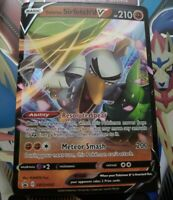Pokemon Galarian Sirfetch/'d V SWSH043 SWSH Black Star Promos Promotional NM-Mint
