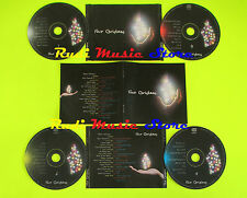 CD FOUR CHRISTMAS BOX 4 CD ARMSTRONG SINATRA SUMMERTIME CROSBY (c19*) lp mc dvd