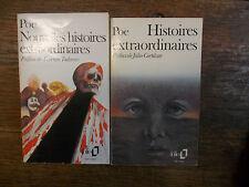 Edgar Allan Poe Histoires extraordinaires + Nouvelles histoires extraordinaires