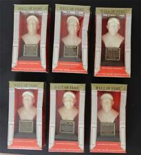 1963 Baseball Hall of Fame Factory Sealed Bust lot of (6)