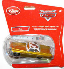 Disney Cars Disney Store Exclusive Tex Die Cast  Bubble package 1:43 scale NEW